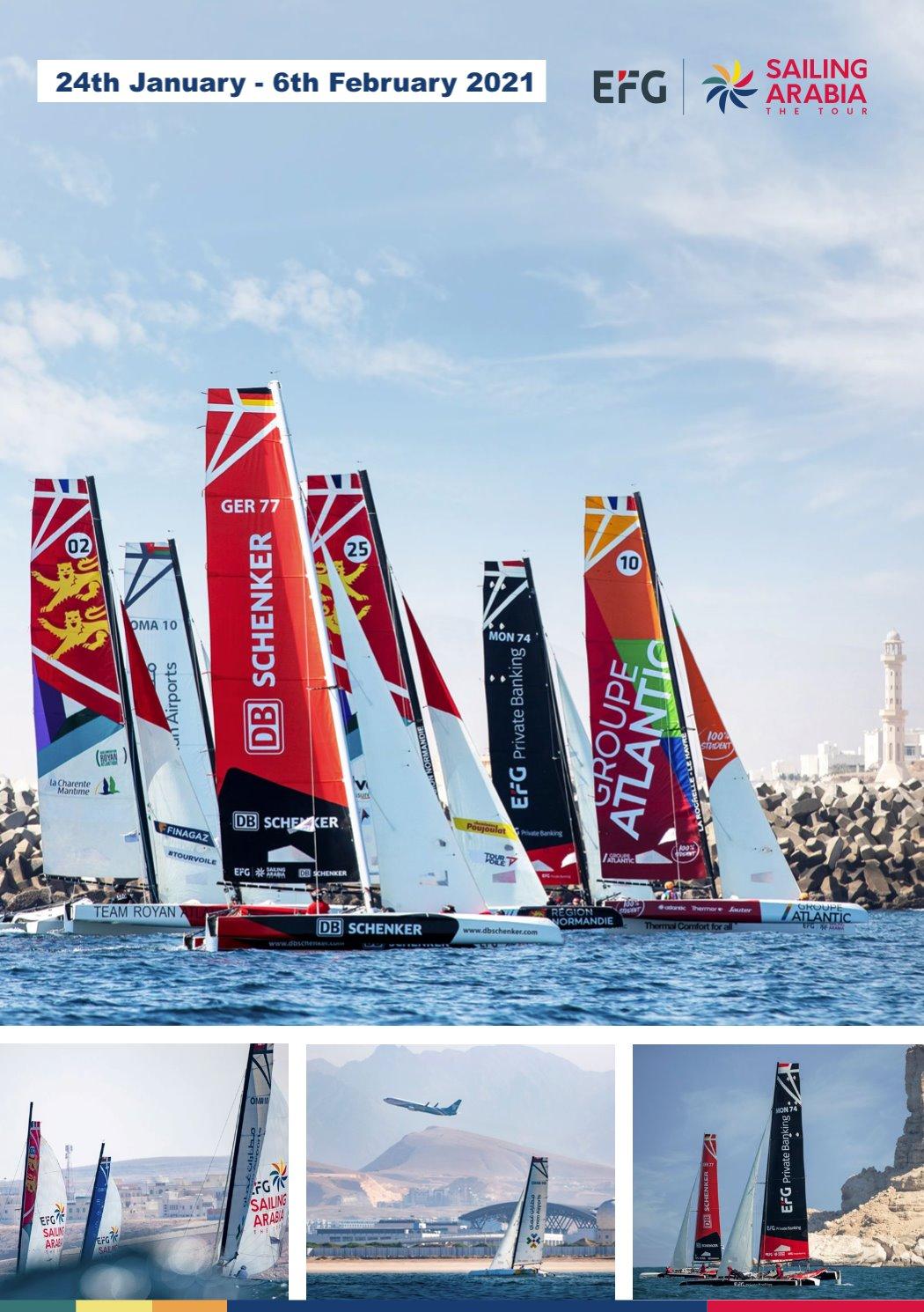 Sailing Arabia the Tour 2021