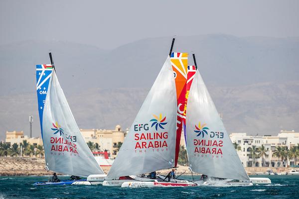 SALALAH, OMAN - JANUARY 26: EFG Sailing Arabia The Tour on January 26th, 2020 in Salalah, Oman. Photo by Sander van der Borch . COPYRIGHT: Sander van der Borch / Oman Sail